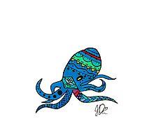 Octopus in Sharpie  Photographic Print