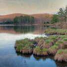 Lake Nawahunta - Harriman Park by JHRphotoART