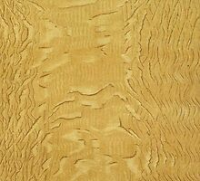 Dappled Light Oak Wood Grain Pattern by RedPine