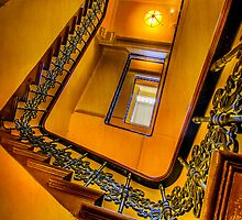 Stairway to the Past.. by Tracie Louise