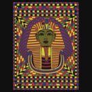 The King of Tut Pop Art by GUS3141592