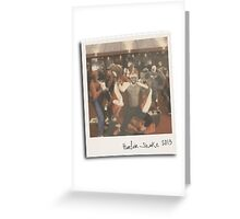 Miami Heat Harlem Shake Greeting Card