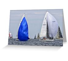 Sails on the Lake Greeting Card