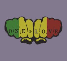 One Love Fists by Duncan Morgan