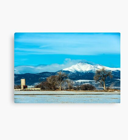 From Earth To Heaven Canvas Print