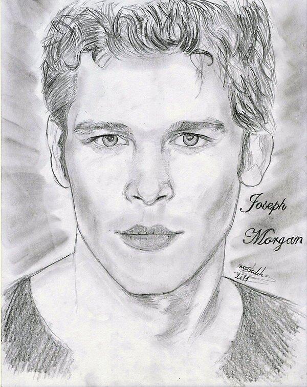 Joseph Morgan fan print by tvdtumblcon