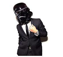 corporate shadowtrooper 3 Photographic Print