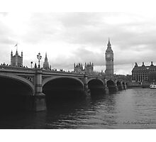 Do You Want to see Big Ben? Photographic Print