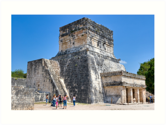 Temples To The Past - Chichen Itza by Mark Tisdale