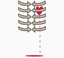 (Arrows) Dripping Heart Unisex T-Shirt