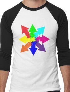 (Arrows) Swirl Men's Baseball ¾ T-Shirt