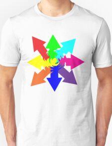 (Arrows) Swirl Unisex T-Shirt