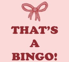 That's a Bingo! by Christina Ferraro