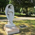 Angel headstone by AuntieBarbie