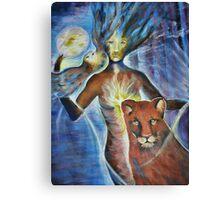 Healing hands Canvas Print