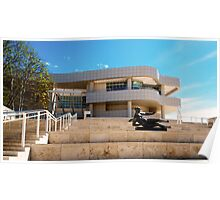 The Getty Center and Museum. Poster