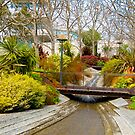 The grounds at the Getty Center. by philw