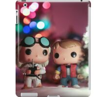 Christmas with Marty and Doc iPad Case/Skin