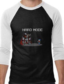 Hard Mode Men's Baseball ¾ T-Shirt