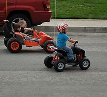 Baby Drag Race.... by DonnaMoore