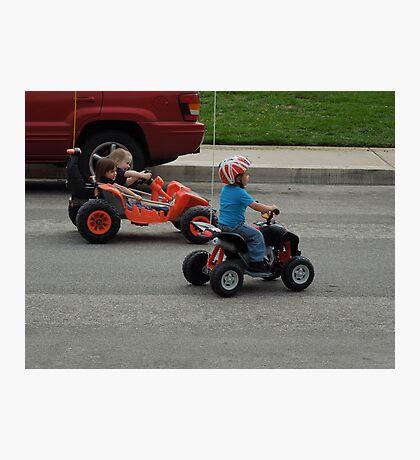 Baby Drag Race.... Photographic Print