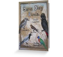 Some Day Birds Greeting Card