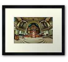 St Michael's Uniting Church • Melbourne Framed Print