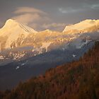 Mt Cheam at Sunset by Sheri Bawtinheimer