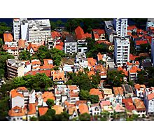 Rio Rooftops Photographic Print