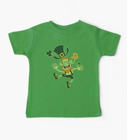 Irish Leprechaun Dancing and Singing Baby Tee