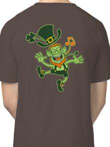 Irish Leprechaun Dancing and Singing Classic T-Shirt