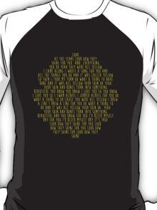 Yellow by Coldplay T-Shirt T-Shirt