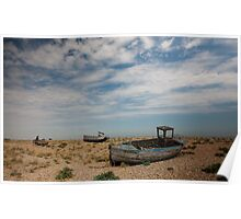 Dungeness Boats Poster