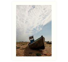 Dungeness Boat Art Print