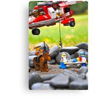Lego Rescue Canvas Print