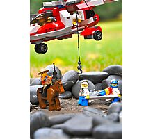 Lego Rescue Photographic Print