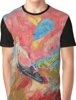 Pink Flamingo Graphic T-Shirt