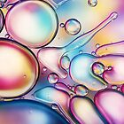 Rainbow Bubble Splash by Sharon Johnstone