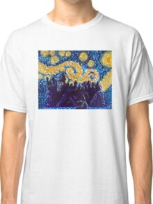 Hogwarts Starry Night Classic T-Shirt
