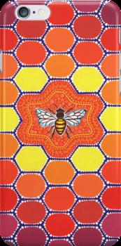 Bee Sacred Geometry by Elspeth McLean