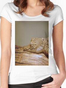Caiman Women's Fitted Scoop T-Shirt