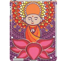 Jizo Meditating upon a Ruby Lotus iPad Case/Skin