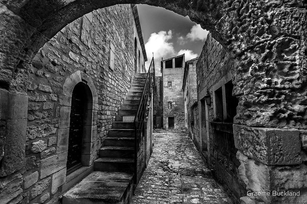 Deserted Village - South Of France by Graeme Buckland