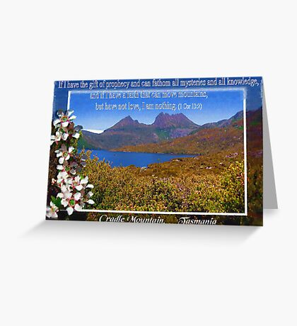 Cradle Mountain , Tasmania. Greeting Card