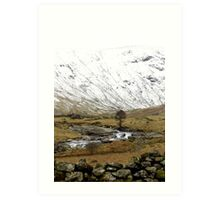 Borrowdale Valley! The Lakes District - England! Art Print