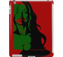Zombi Noir shirt iPad Case/Skin