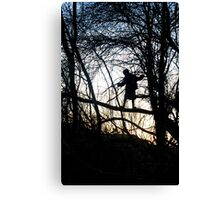 Tree Child Canvas Print