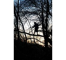 Tree Child Photographic Print