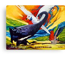 The Guardian Swan Canvas Print