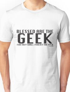 Blessed are the Geek Unisex T-Shirt